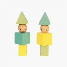 Muñecos de madera | Bloques