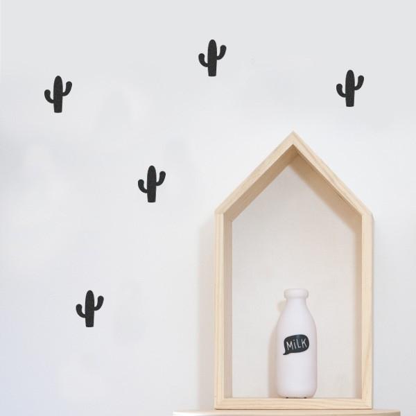 Vinilos infantil cactus para decorar dormitorios infantiles