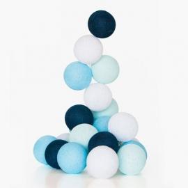 Guirnalda Bolas con luz | Azul