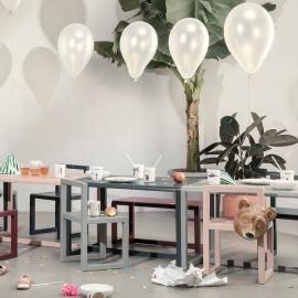 mesa infantil varios colores escritorio infantil blanco