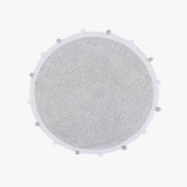 Alfombra Bubbly Light Grey