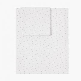 Set of sheet WHITE MINI STELLA