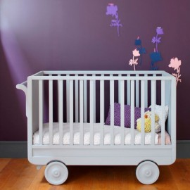 Convertible Cot Bed Roulotte | Colors