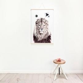 Poster magnético Lion