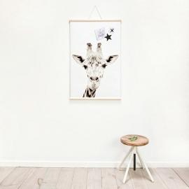 Poster magnético Giraffe