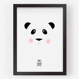 Lámina | Love Panda