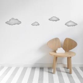 Vinilo Nubes Grafito