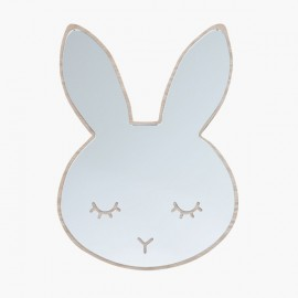 Sleepy Bunny mirror oak