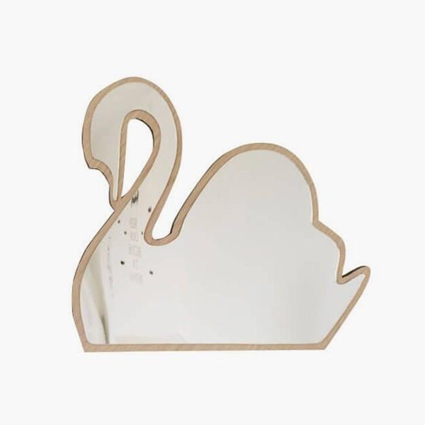 Mirror swan mase living