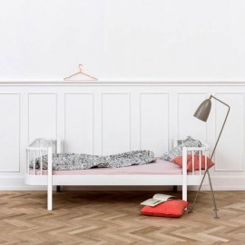 WOOD BED 90 | White