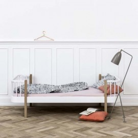 Cama Wood 90 cm | Roble