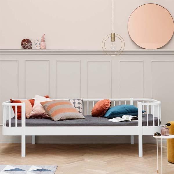 Cama nido 90 cm blanca oliver furniture for Cama nido blanca online