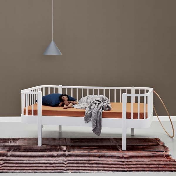 Wood junior day bed oliver furniture