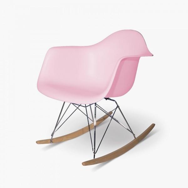 Danish Modern Deco Mini Chair Designer Classic RAR mcm Rocking Chair Miniature
