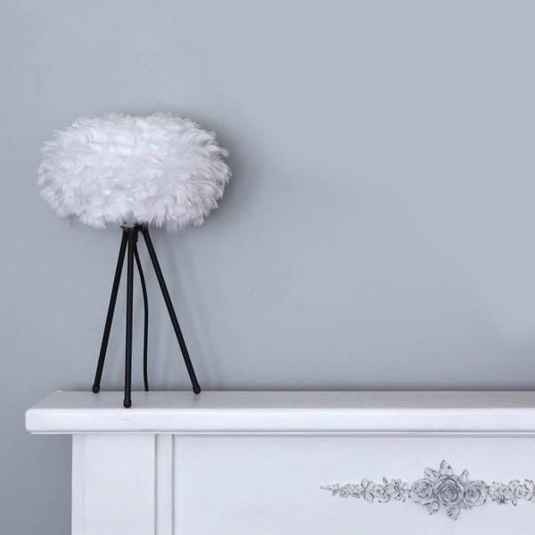 Lámpara Plumas Mesa | Varios colores