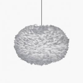 Lámpara Plumas Gris | Varios tamaños