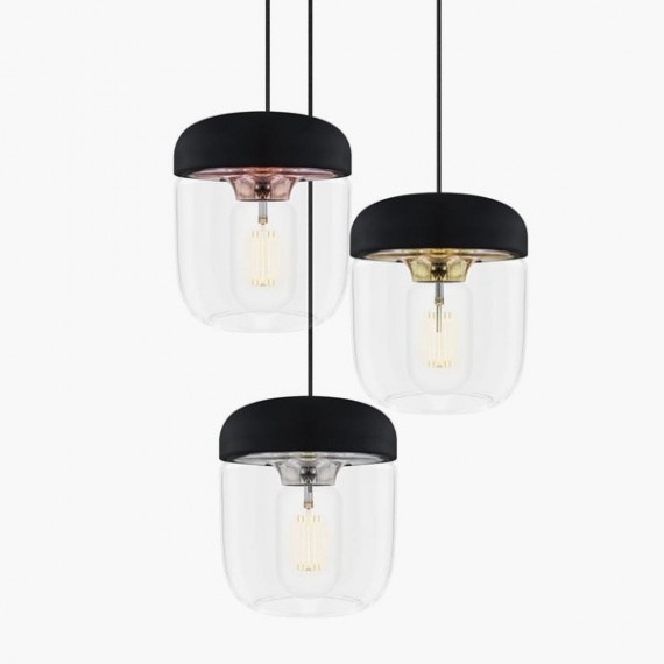 Lámpara Acorn   Negro