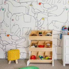 Animals Mural Wallpaper