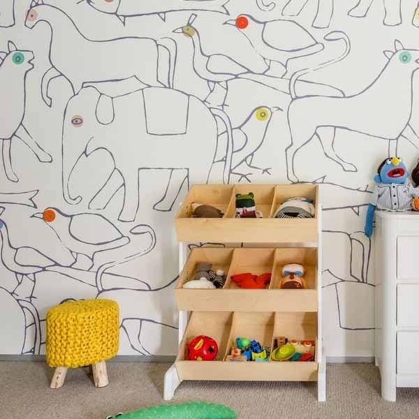 Mural Papel pintado Animals