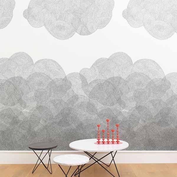 Mural Papel pintado Cloudy