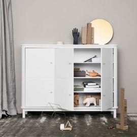 Aparador Wood | Blanco