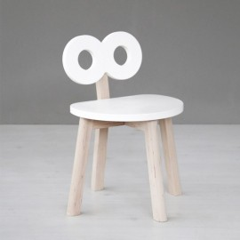 Double-O Chair - white - Ooh Noo