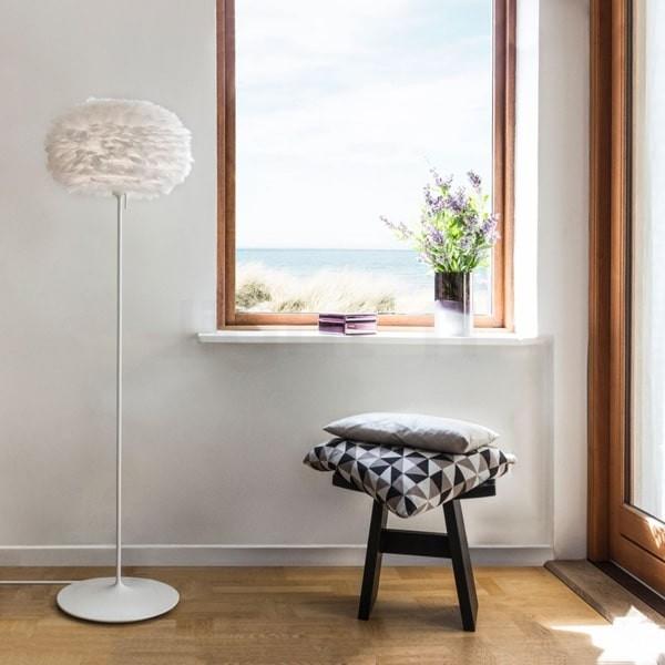 Eos White floor lamp
