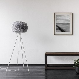 Eos light grey floor lamp