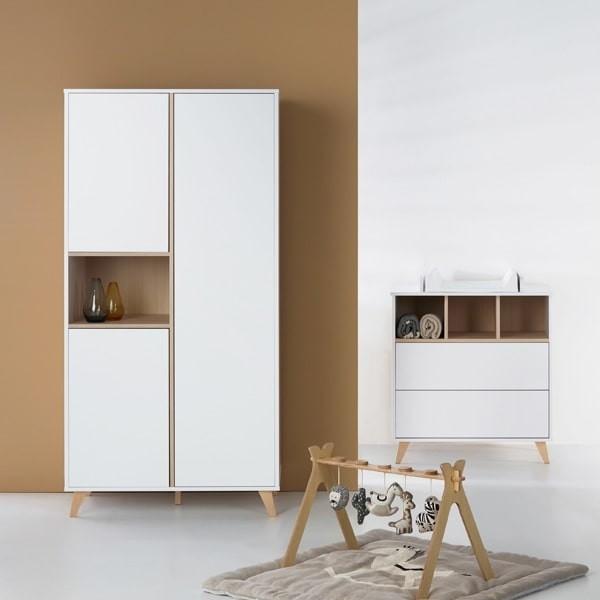 C moda loft infantil gris quax muebles modernos estilo - Comoda blanca ...