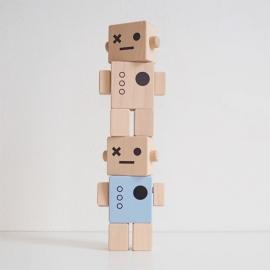Robot de madera | Colores