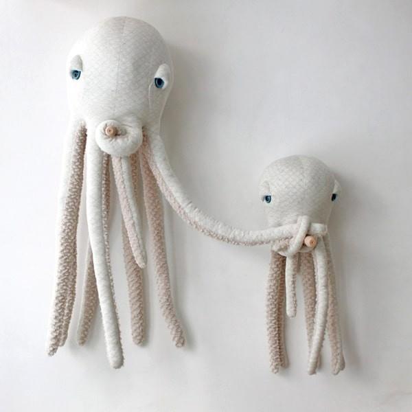 Albino Octopus