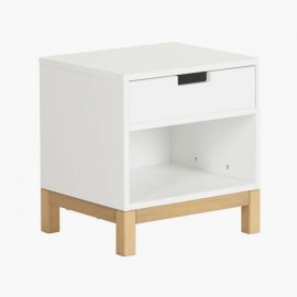 Night Table white Indigo | Colors