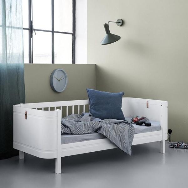 WOOD MINI+ JUNIOR BED, WHITE