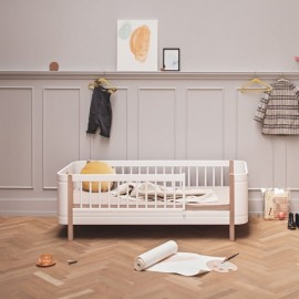 WOOD MINI+ JUNIOR BED, OAK
