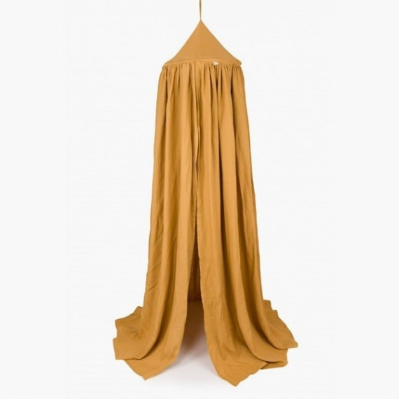 Bed canopy mustard