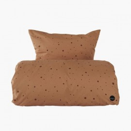 Caramel Dot Bedding