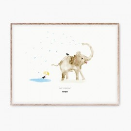 Ellie the Elephant Poster