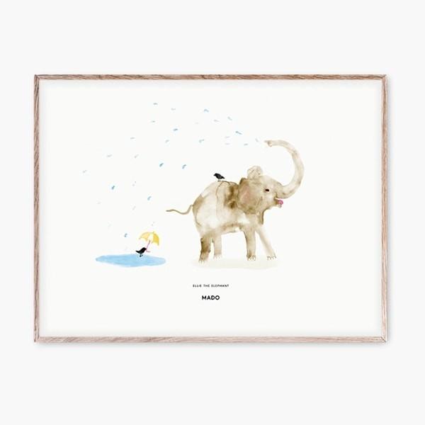 Ellie the Elephant Poster