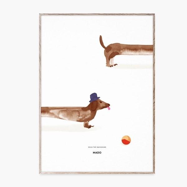 Ilustración Doug the Dachshund