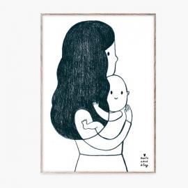 Ilustración Abrace