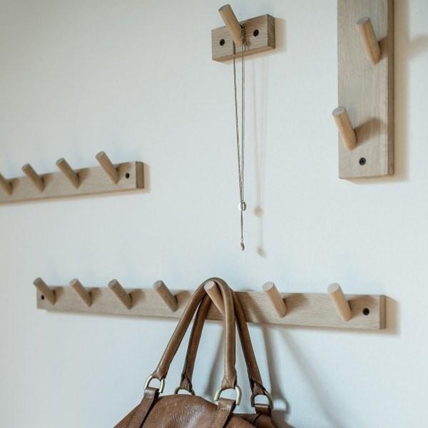 Wooden hook rack   Sizes
