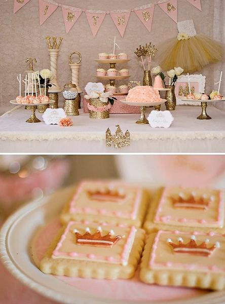 Un cumplea os especial una fiesta de princesa - Decoracion cumpleanos princesas ...