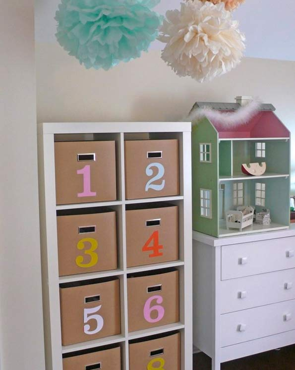 Ideas de decoraci n con el modelo expedit de ikea for Mueble infantil ikea