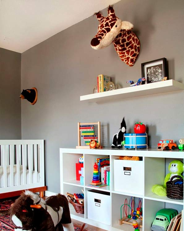 Ideas de decoraci n con el modelo expedit de ikea - Ideas para decorar habitacion infantil ...