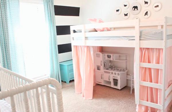 Ideas para personalizar el modelo kura de ikea - Ikea habitaciones infantiles literas ...