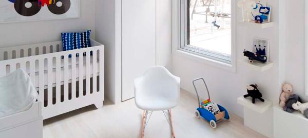 Inspiraci n en habitaci n infantil decorar con color - Habitacion bebe moderna ...