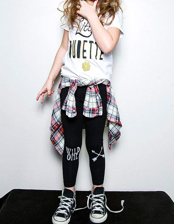 moda rockera infantil