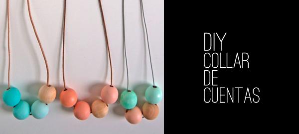 DIY -- Tutorial collar de cuentas