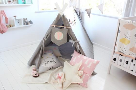 Soft Nordic: habitación infantil decorada en tonos pasteles al estilo nórdico