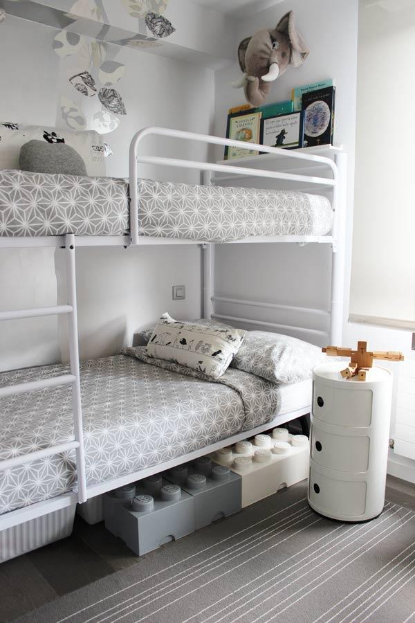 La moderna habitaci n infantil de jon y mikel inspiraci n - Habitaciones juveniles con estilo ...